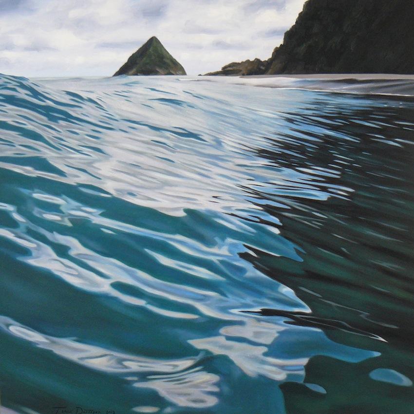 Paritutu Reflections - Back Beach