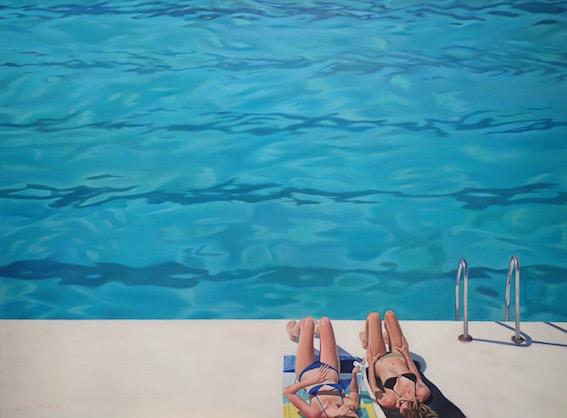 Sunbathers - The Icebergs, Bondi