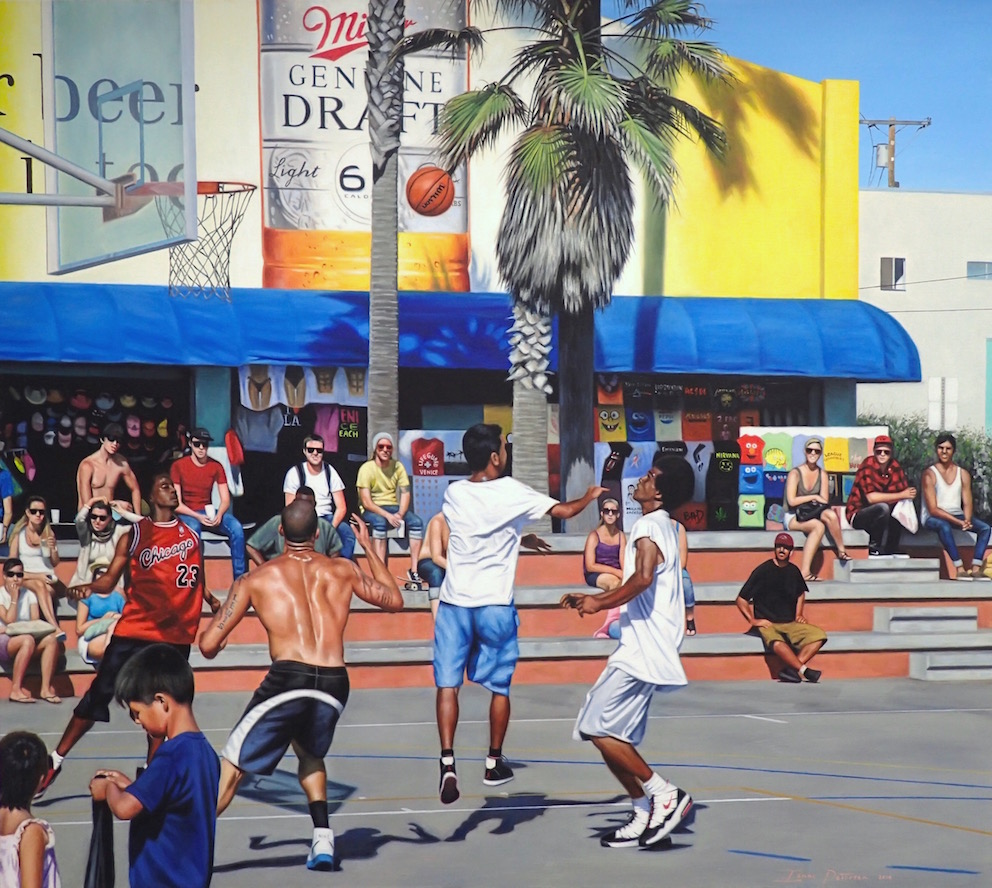Shooting Hoops - Venice, CA.